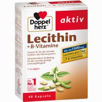 Doppelherz Lecithin + B-vitamine  Kapseln 40 Stück