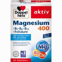 Abbildung von Doppelherz Magnesium 400mg Tabletten 30 Stück
