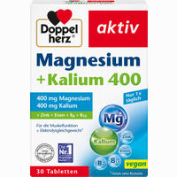 Doppelherz Magnesium + Kalium  Tabletten 30 Stück