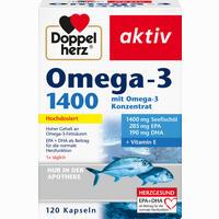 Abbildung von Doppelherz Omega- 3 1400 Kapseln 120 Stück