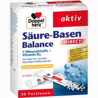 Doppelherz Säure-basen Balance Direct Pellets 20 Stück
