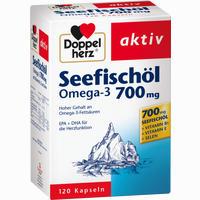 Doppelherz Seefischöl Omega-3 700mg  Kapseln 120 Stück