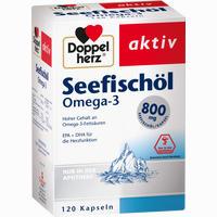 Doppelherz Seefischöl Omega-3 800mg  Kapseln 120 Stück
