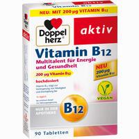 Abbildung von Doppelherz Vitamin B12 Tabletten  90 Stück