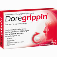Abbildung von Doregrippin Tabletten  20 Stück