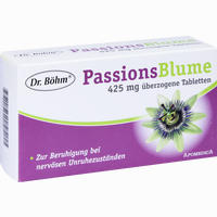 Dr. Böhm Passionsblume 425mg Dragees  Tabletten 60 Stück