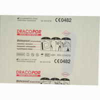 Dracopor Waterproof Wundverband Steril 5cmx7.2cm   1 Stück