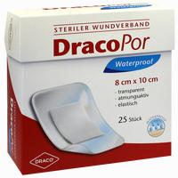 Dracopor Waterproof Wundverband Steril 8cmx10cm   25 Stück