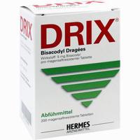 Abbildung von Drix Bisacodyl Dragees  200 Stück