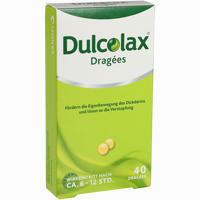 Abbildung von Dulcolax Dragees Tabletten 40 Stück