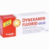 Abbildung von Dynexaminfluorid Gelee Gel 20 g