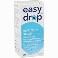 Abbildung von Easydrop Hyaluron Liquid Augentropfen 10 ml