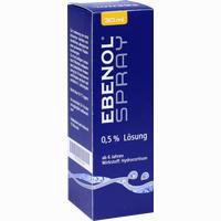 Ebenol Spray 0.5% Lösung  Ppl 30 ml
