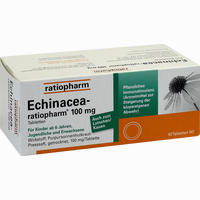 Echinacea-ratiopharm 100mg  Tabletten 50 Stück