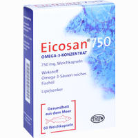 Abbildung von Eicosan 750 Omega- 3- Konzentrat Kapseln 60 Stück