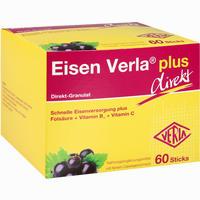 Abbildung von Eisen Verla Plus Direkt- Sticks Granulat 60 Stück