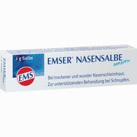 Abbildung von Emser Nasensalbe Sensitiv  2 g