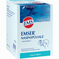 Emser Nasenspülsalz Physiologisch Im Beutel Pulver 100 Stück