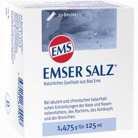 Abbildung von Emser Salz 1.475g Pulver 20 Stück