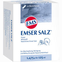 Emser Salz 1.475g  Pulver 50 Stück