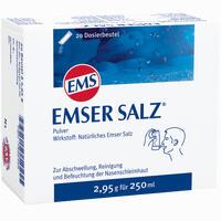 Emser Salz Beutel 20 Stück