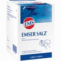 Emser Salz Beutel 100 Stück
