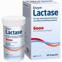 Abbildung von Enzym Lactase 6000 Fcc Kapseln  60 Stück