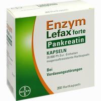 Enzym-Lefax Forte Pankreatin Kapseln 200 Stück