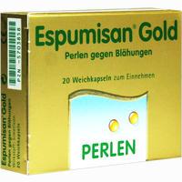 Abbildung von Espumisan Gold Perlen gegen Blähungen 20 Stück