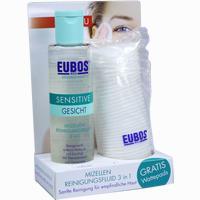 Abbildung von Eubos Sensitive Mizellen Reinigungsfluid 3- In- 1 200 ml
