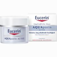 Abbildung von Eucerin Aquaporin Active Feuchtigkeitspflege für Trockene Haut Creme 50 ml
