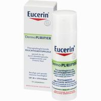 Abbildung von Eucerin Dermo Purifyer Therapiebegleitende Feuchtigkeitspflege Lsf 30 Creme 50 ml