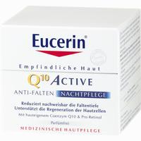 Eucerin Egh Q10 Active Nacht  Nachtcreme 50 ML