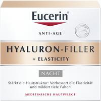 Abbildung von Eucerin Hyaluron- Filler + Elasticity Nachtpflege Creme 50 ml