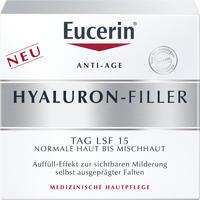 Abbildung von Eucerin Hyaluron- Filler Tagespflege für Normale Haut Bis Mischhaut Creme 50 ml