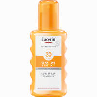 Abbildung von Eucerin Sensitive Protect Sun Spray Transparent Lsf 30  200 ml