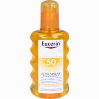 Abbildung von Eucerin Sun Transparent Spray Lsf 50  200 ml