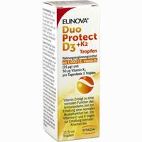 Abbildung von Eunova Duoprotect D3+k2 1000ie/50ug Tropfen 11.5 ml