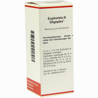 Euphorbia N Oligoplex  Liquidum 50 ml