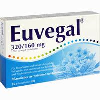 Euvegal 320/160mg  Filmtabletten 25 Stück