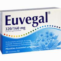 Euvegal 320/160mg  Filmtabletten 50 Stück