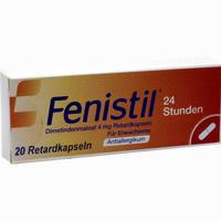 Fenistil 24 Stunden Retardkapseln   Pharma gerke 20 Stück