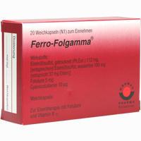 Abbildung von Ferro- Folgamma Weichkapseln  20 Stück