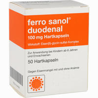 Abbildung von Ferro Sanol Duodenal Kapseln 50 Stück