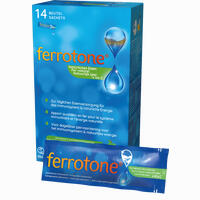 Abbildung von Ferrotone Eisen mit Apfel Beutel 14 x 25 ml