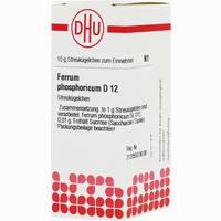 Ferrum Phosphoricum D12  Globuli Dhu-arzneimittel 10 g