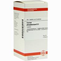 Ferrum Phosphoricum D3  Tabletten 200 Stück