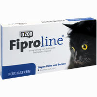 Fiproline Für Katzen Gegen Flöhe Und Zecken Vet Lösung 4 ST
