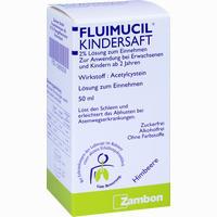 Abbildung von Fluimucil Kindersaft  50 ml