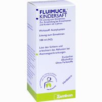 Abbildung von Fluimucil Kindersaft  100 ml